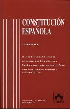 Portada de CONSTITUCION ESPAÑOLA (5ª EDICION)