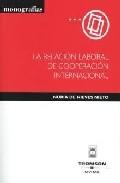 Portada de RELACION LABORAL DE COOPERACION INTERNACIONAL