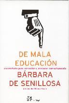 Portada de DE MALA EDUCACIÓN