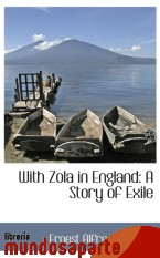 Portada de WITH ZOLA IN ENGLAND: A STORY OF EXILE
