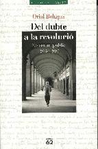 Portada de DEL DUBTE A LA REVOLUCIÓ. (EBOOK)