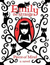 Portada de EMILY THE STRANGE: PIECE OF MIND