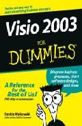 Portada de VISIO 2003 FOR DUMMIES
