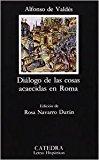 Portada de DIALOGO DE LAS COSAS ACAECIDAS EN ROMA
