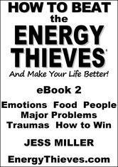 Portada de HOW TO BEAT THE ENERGY THIEVES AND MAKE YOUR LIFE BETTER: EBOOK2
