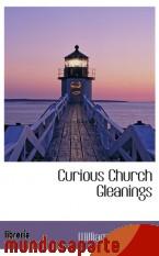 Portada de CURIOUS CHURCH GLEANINGS