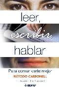 Portada de LEER, ESCRIBIR, HABLAR