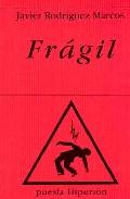 Portada de FRAGIL