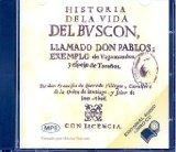 Portada de HISTORIA DE LA VIDA DEL BUSCON, LLAMADO DON PABLOS; EXEMPLO DE VAGABUNDOS Y ESPEJO DE TACAÑOS