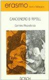 Portada de CANCIONERO DE RIPOLL