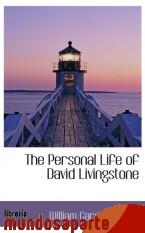 Portada de THE PERSONAL LIFE OF DAVID LIVINGSTONE