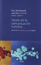 Portada de TEORÍA DE LA COMUNICACIÓN HUMANA (EBOOK)