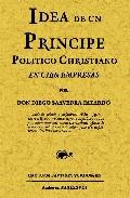 Portada de IDEA DE UN PRINCIPE POLITHICO-CHRISTIANO EN CIEN EMPRESAS