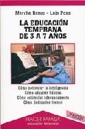 Portada de LA EDUCACION TEMPRANA DE 3 A 7 AÑOS