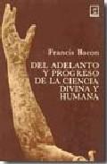 Portada de DEL ADELANTO Y PROGRESO DE LA CIENCIA DIVINA Y HUMANA
