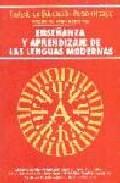 Portada de ENSEÑANZA Y APRENDIZAJE DE LAS LENGUAS MODERNAS