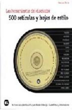 Portada de 500 RETICULAS Y HOJAS DE ESTILO