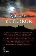Portada de 250 AÑOS DE TERROR