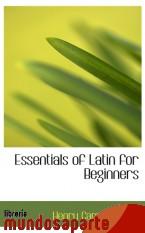 Portada de ESSENTIALS OF LATIN FOR BEGINNERS