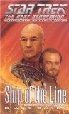 Portada de SHIP OF THE LINE (STAR TREK: THE NEXT GENERATION)