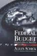 Portada de THE FEDERAL BUDGET: POLITICS, POLICY, PROCESS