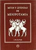 Portada de MITOS Y LEYENDAS DE MESOPOTAMIA