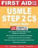 Portada de FIRST AID FOR THE USMLE STEP 2 CS (FIRST AID USMLE)
