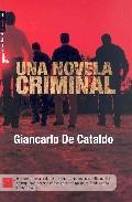 Portada de UNA NOVELA CRIMINAL