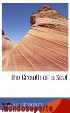 Portada de THE GROWTH OF A SOUL