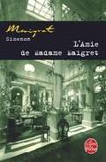 Portada de L AMIE DE MADAME MAIGRET