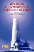 Portada de DESARROLLO DE LOS VALORES EN LAS INSTITUCIONES EDUCATIVAS