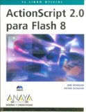 Portada de ACTIONSCRIPT 2.0 PARA FLASH 8