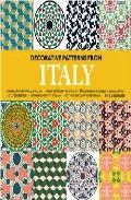 Portada de DECORATIVE PATTERNS FROM ITALY