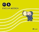 Portada de VIVO LA MUSICA CUADERNO ANUAL: PEPITO EL TOPITO 4 AÑOS