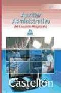 Portada de AUXILIARES ADMINISTRATIVOS DEL CONSORCIO HOSPITALARIO DE CASTELLON: TEST