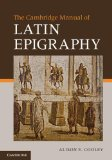 Portada de CAMBRIDGE MANUAL OF LATIN EPIGRAPHY