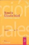 Portada de MANUAL DE EDUCACION INFANTIL: ASPECTOS DIDACTICOS Y ORGANIZATIVOS