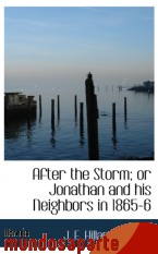 Portada de AFTER THE STORM; OR JONATHAN AND HIS NEIGHBORS IN 1865-6