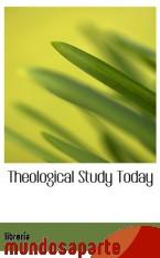 Portada de THEOLOGICAL STUDY TODAY