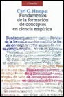 Portada de FUNDAMENTOS DE LA FORMACION DE CONCEPTOS EN CIENCIA EMPIRICA