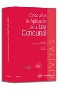 Portada de CINCO AÑOS DE APLICACION DE LA LEY CONCURSAL
