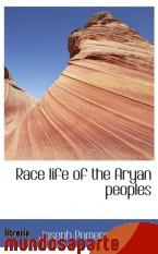 Portada de RACE LIFE OF THE ARYAN PEOPLES