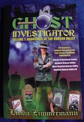 Portada de GHOST INVESTIGATOR VOLUME 1: HAUNTINGS OF THE HUDSON VALLEY