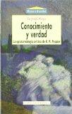 Portada de CONOCIMIENTO Y VERDAD. LA PIESTEMOLOGIA CRITICA DE K.R. POPPER