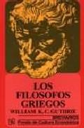 Portada de LOS FILOSOFOS GRIEGOS
