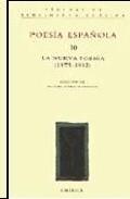 Portada de POESIA ESPAÑOLA: LA NUEVA POESIA