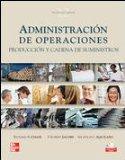 Portada de ADMINISTRACION DE OPERACIONES: PRODUCCION Y CADENA DE SUMINISTROS