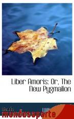 Portada de LIBER AMORIS: OR, THE NEW PYGMALION