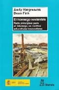 Portada de EL LIDERAZGO SOSTENIBLE: SIETE PRINCIPIOS PARA EL LIDERAZGO EN CENTROS EDUCATIVOS INNOVADORES