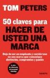Portada de 50 CLAVES PARA HACER DE USTED UNA MARCA